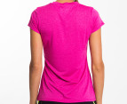 Champion Women's Duo Dry Endurance Tee - Pink 3