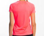 Champion Women's Training Tee - Neon Coral 3