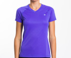 Champion Women's Training Tee - Purple 1