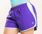 Champion Women's Sport Short - Purple 4