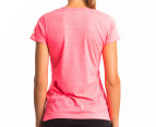New Balance Women's Ribbon Tee - Pink 2
