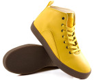 Men's Gourmet Quattro Shoes - Yellow/Gum - US Men 10 3