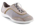 Rockport Women's Yezenia Bungee - Grey/Gold - US Women 8 1