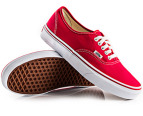 Vans Authentic - Fiery Red - US Men 4 4