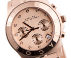 Marc by Marc Jacobs Blade Chronograph Watch - Rose Gold 2