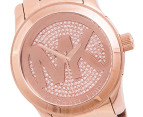 Michael Kors Women's Logo Watch - Rose Gold 2