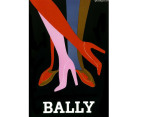 Bally Shoes by Villemot 75 x 50cm Canvas 3