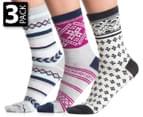 Gallaz Women's Fair Isle Sock 3-Pack 1