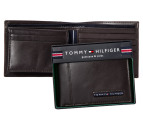 Tommy Hilfiger Cambridge Billfold Wallet - Brown 1