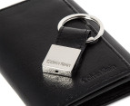 Calvin Klein Trifold Wallet & Key Fob - Black 4