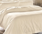 Sheridan Millswyn Tailored Queen Quilt Cover Set - Flax 2