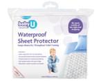 Baby U Waterproof Sheet Protector 2