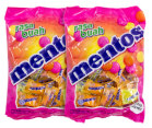 4 x Mentos Fruit Chews 50pk 135g 2