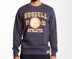 Russell Athletic Men's Sport Crew Sweater - Storm Cloud 1