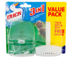 Duck 3In1 Twin Refill w/Holder 50mL 2pk 1