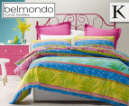 Belmondo Tropical King Quilt Cover Set 1
