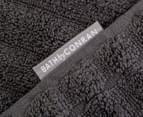 2 x Conran Soho 75 x 150cm Extra-Large Bath Towel - Charcoal 2