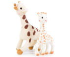Sophie the Giraffe Plush & Teether Toy Set 1