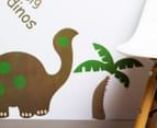 Dinosaur & Palm Tree Wall Decal 3