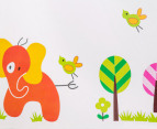 Giraffe & Elephant Wall Decal 3
