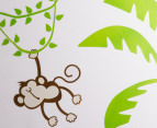 Monkeys in Palm Trees Wall Decal 3