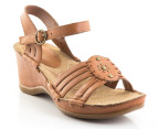 Hush Puppies Women's Malta Quarter Strap - Tan 4
