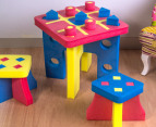 Kiddo Zone Foam Tic Tac Toe Table & Chairs 4