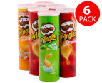 6x Pringles Value Pack 161g 2