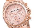 Michael Kors Blair Chronograph Watch - Rose Gold 2