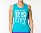 Everlast Women's Flash Dance Tank - Teal 1