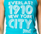 Everlast Women's Flash Dance Tank - Teal 2