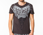 Everlast Men's Domination Tee - Anthracite 1