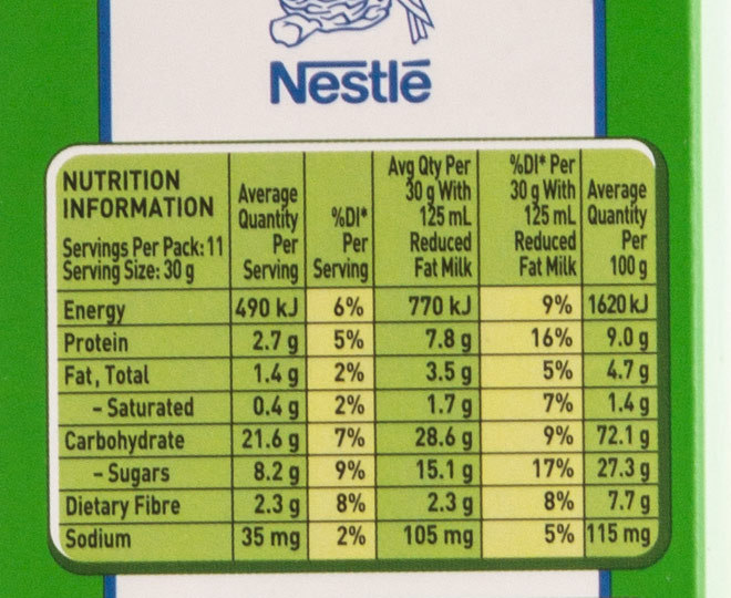 2 X Milo Cereal 350g Groceryrun Com Au Groceries