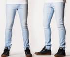 Riders by Lee Men's R0 Super Skinny Jeans - Bleach Blue 1