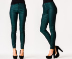 Riders by Lee Women's Mid Rise Vegas Pants - Forest 1