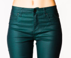Riders by Lee Women's Mid Rise Vegas Pants - Forest 3