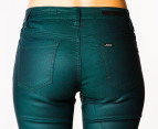 Riders by Lee Women's Mid Rise Vegas Pants - Forest 2