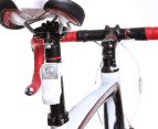 Knog Boomer USB Red LED Rear Bike Light - White 3