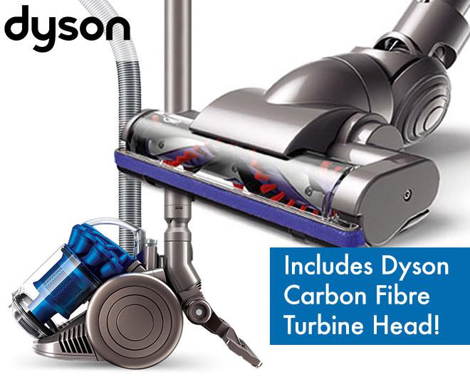 dyson dc26 hepa barrel vac w carbon fibre turbine head. Black Bedroom Furniture Sets. Home Design Ideas