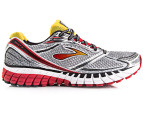 Brooks Men's Ghost 6 - Black/Silver/Lava 2