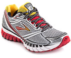 Brooks Men's Ghost 6 - Black/Silver/Lava 1