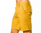 Mr Simple Men's Bailey Shorts - Curry 2