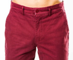 Mr Simple Men's Parkes Chino - Burgundy 2