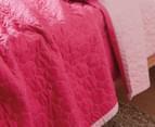 Sheridan Junior Nicoll Single Bed Cover - Fuchsia 2