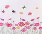 Poppies & Butterflies Wall Decal/Sticker 3