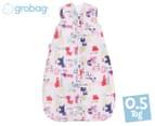 Grobag Alphapinks 0.5 Tog Baby Sleep Bag 1