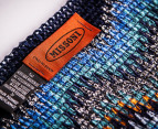 Missoni Women's 190cm Curtain Chenille Scarf - Teal 3