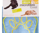 Décor Pet Microfibre Towel 1.0 x 0.5m 3