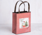 Metal Christmas Bag - Red 7