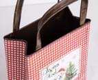 Metal Christmas Bag - Red 8